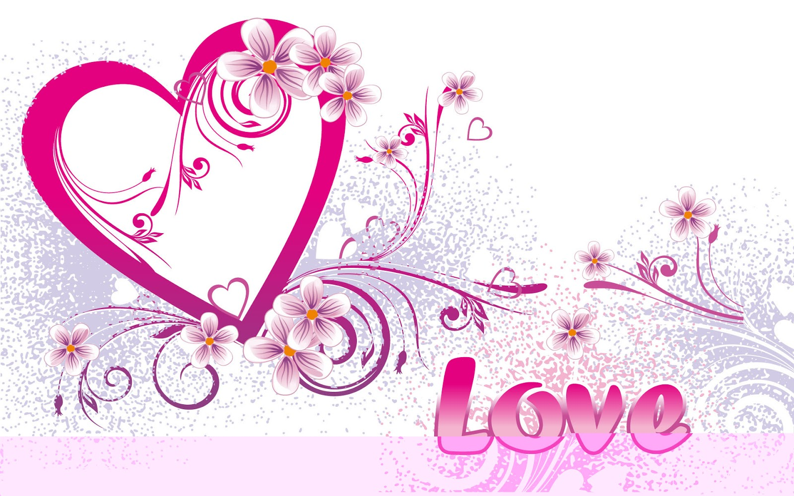 Wallpaper Backgrounds: Cute Heart and Love Wallpapers with Different ...