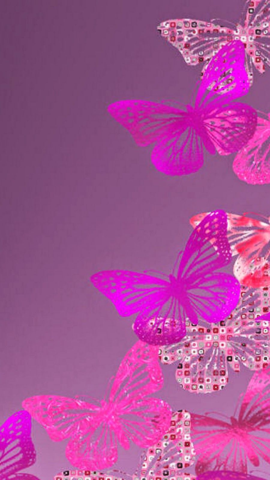 Butterfly Wallpaper   Pink Hd Wallpaper For Iphone 6 161086 900x1600