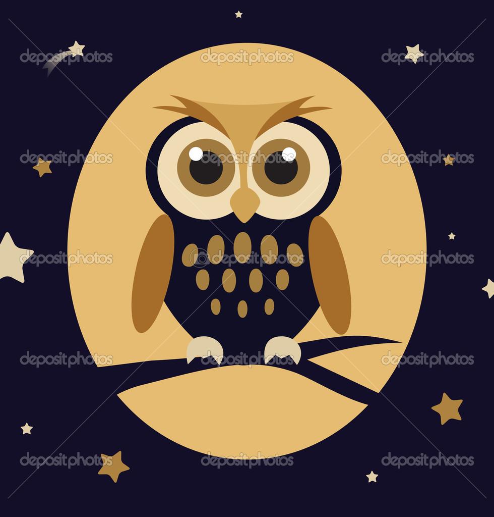 Owl Cartoon Wallpaper Wallpapersafari