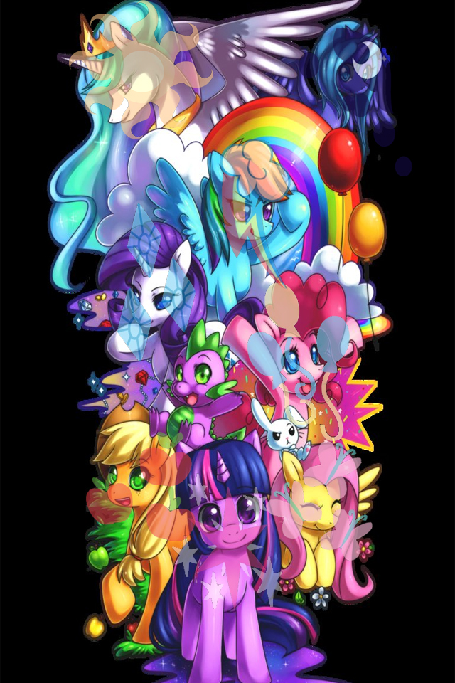 My Little Pony Iphone Wallpaper Wallpapersafari