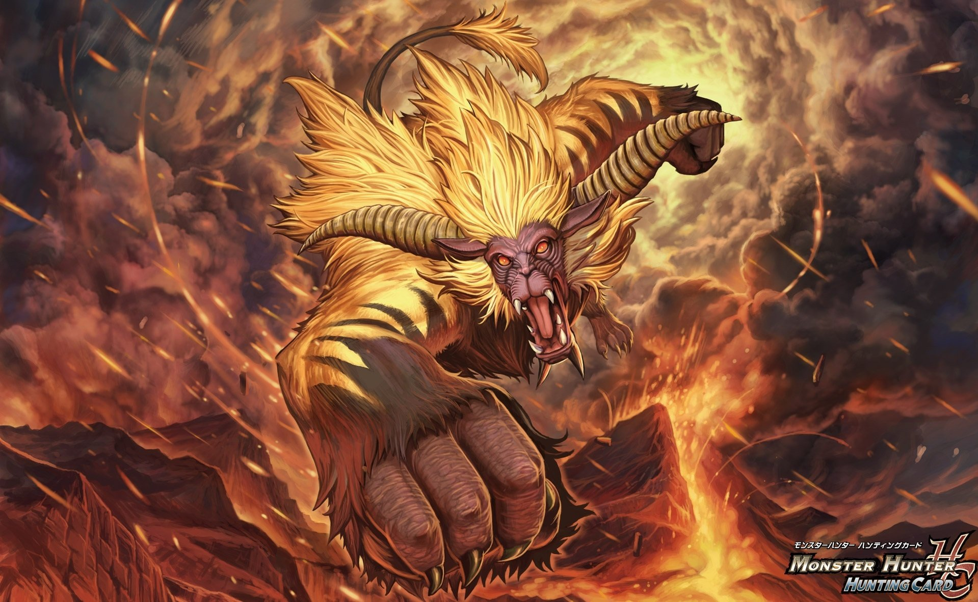 2 Rajang Monster Hunter HD Wallpapers Background Images 1919x1182