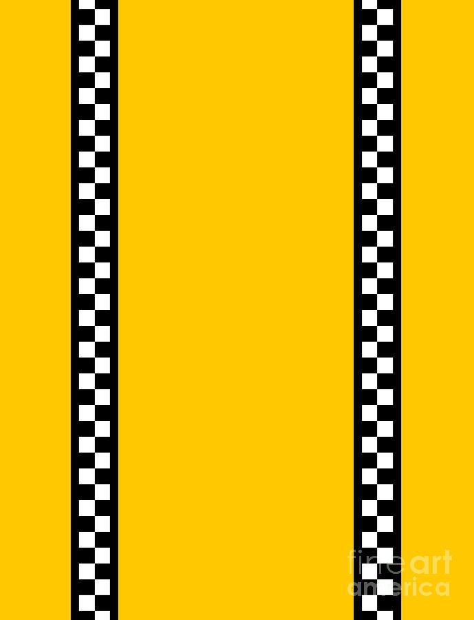 Taxi Background Digital Art by Henrik Lehnerer 689x900