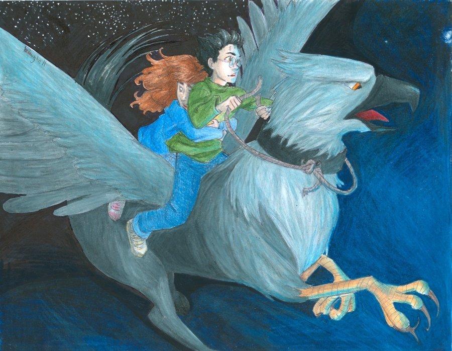 Buckbeak   Harry James Potter Fan Art 23786149 900x698