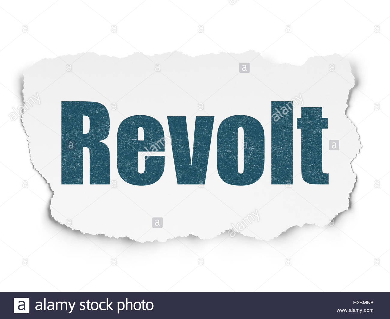 Political concept Revolt on Torn Paper background Stock Photo 1300x1065