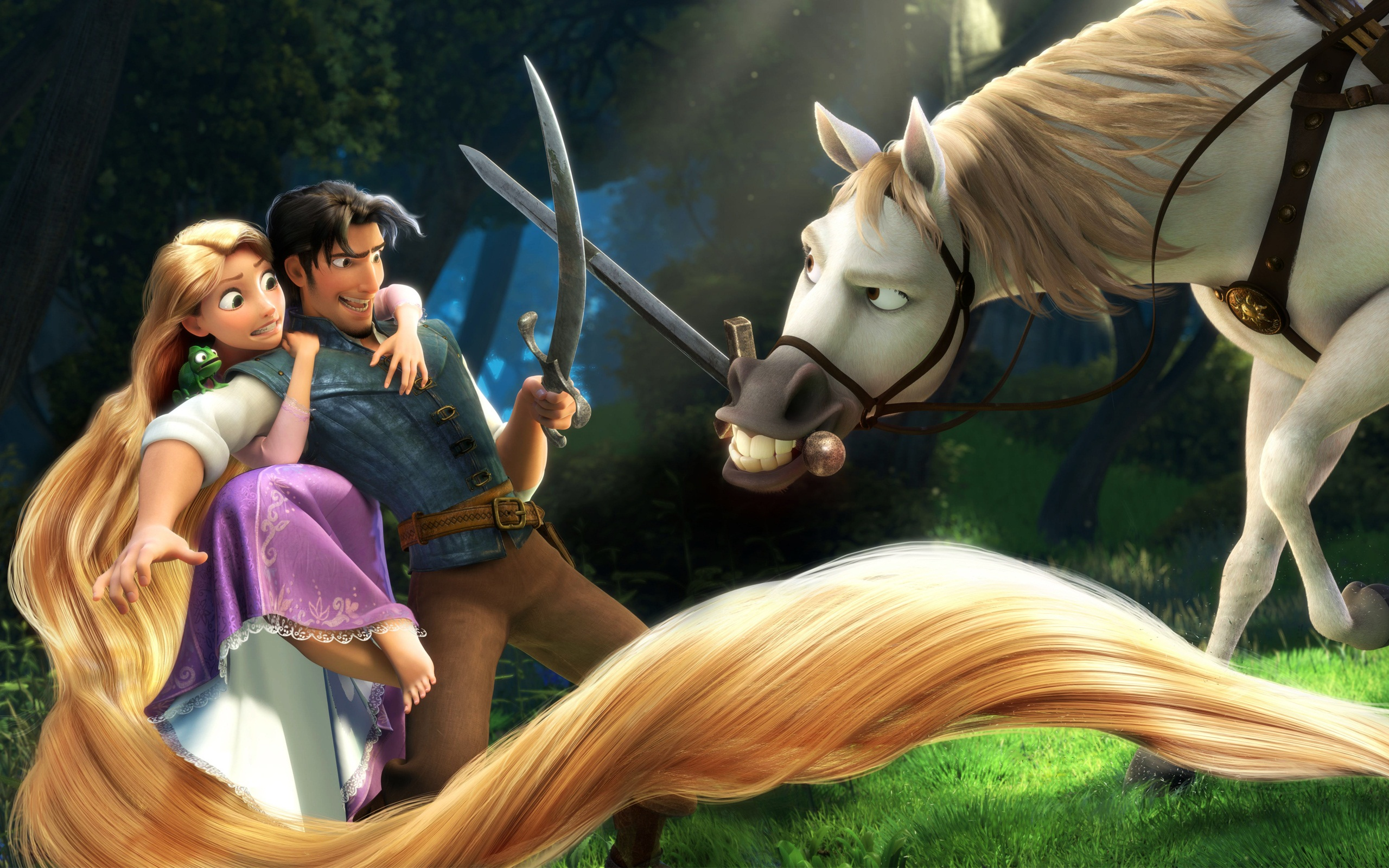 Rapunzel Flynn in Tangled Wallpapers HD Wallpapers 2560x1600