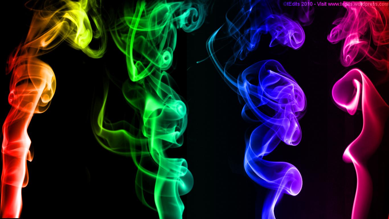 smoke texture smoke rainbow color smoke texture background download 1366x768