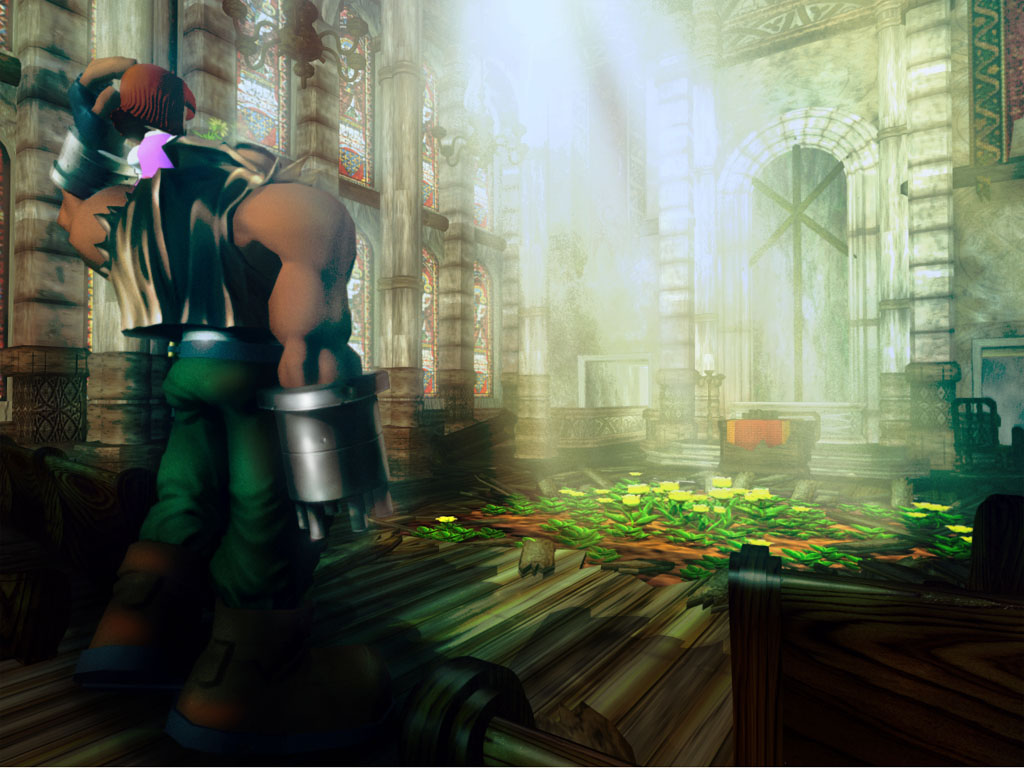 Final Fantasy VII FFVII FF7   Wallpapers 1024x768