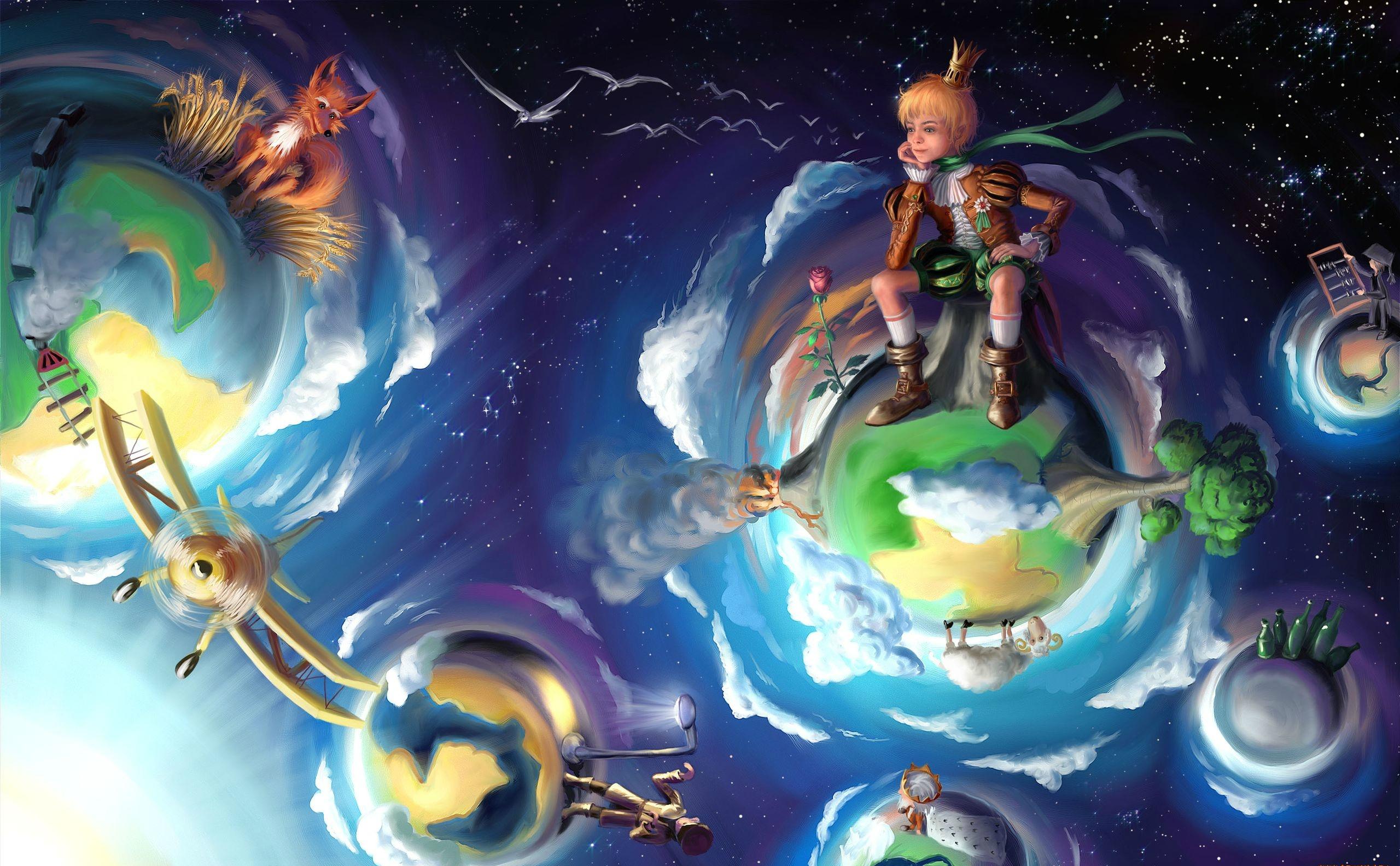 The Little Prince HD Desktop Wallpapers 2560x1583