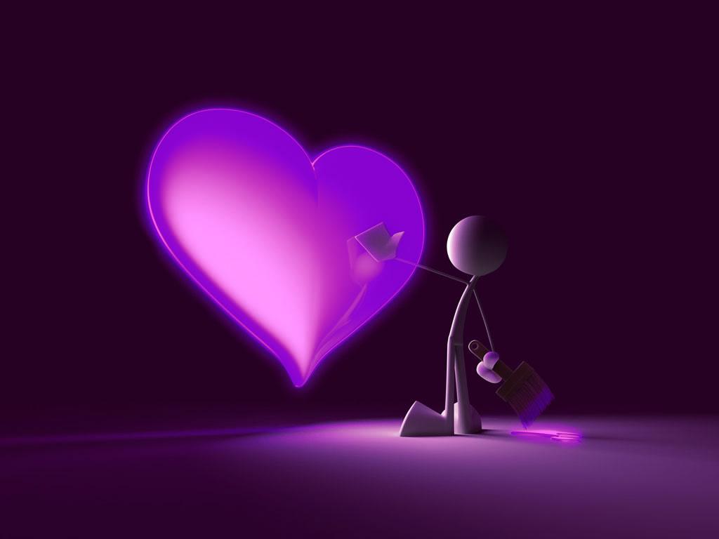 3d valentine powerpoint background 2 1024x768