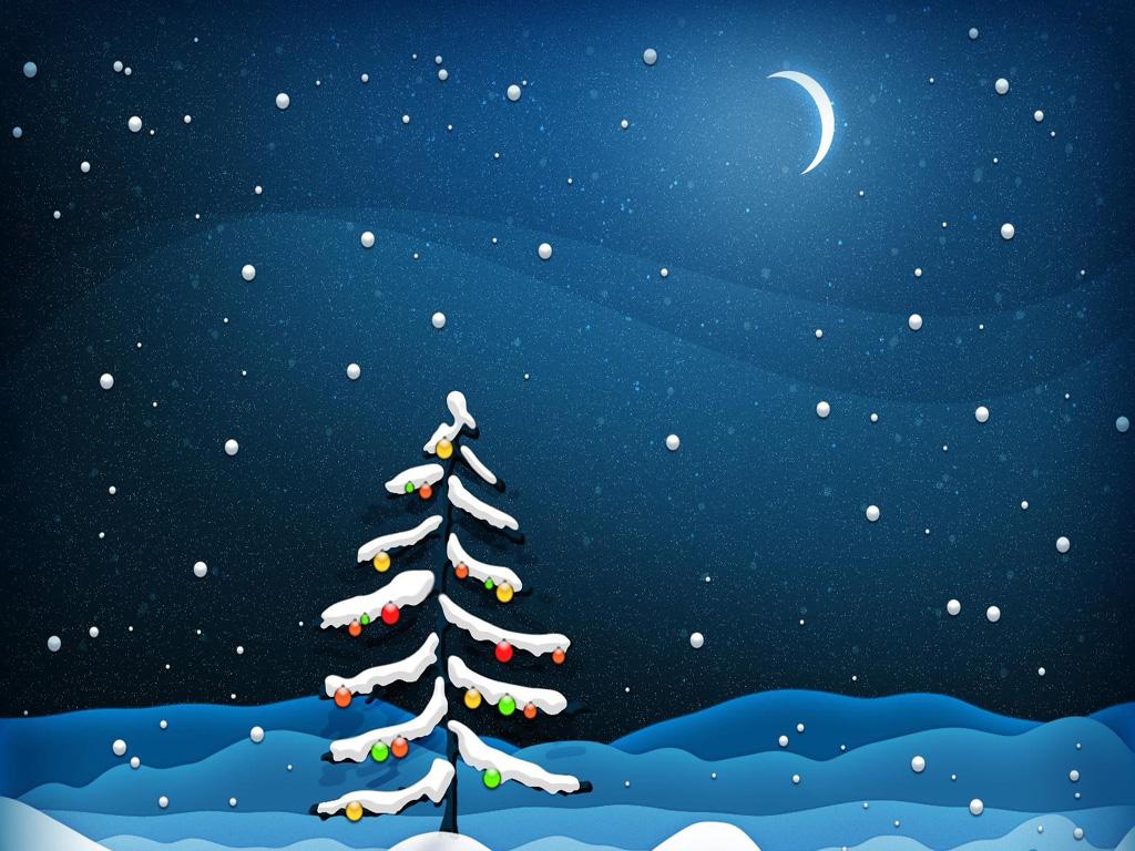 Ipad Christmas Wallpaper Hd: [77+] Free Christmas Tree Wallpaper On WallpaperSafari