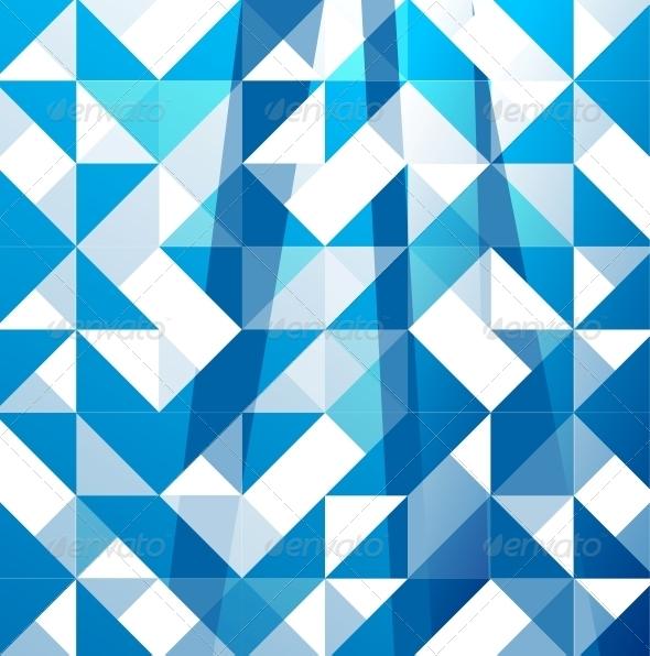 Blue Modern Geometric Design Background   Backgrounds Business 590x596