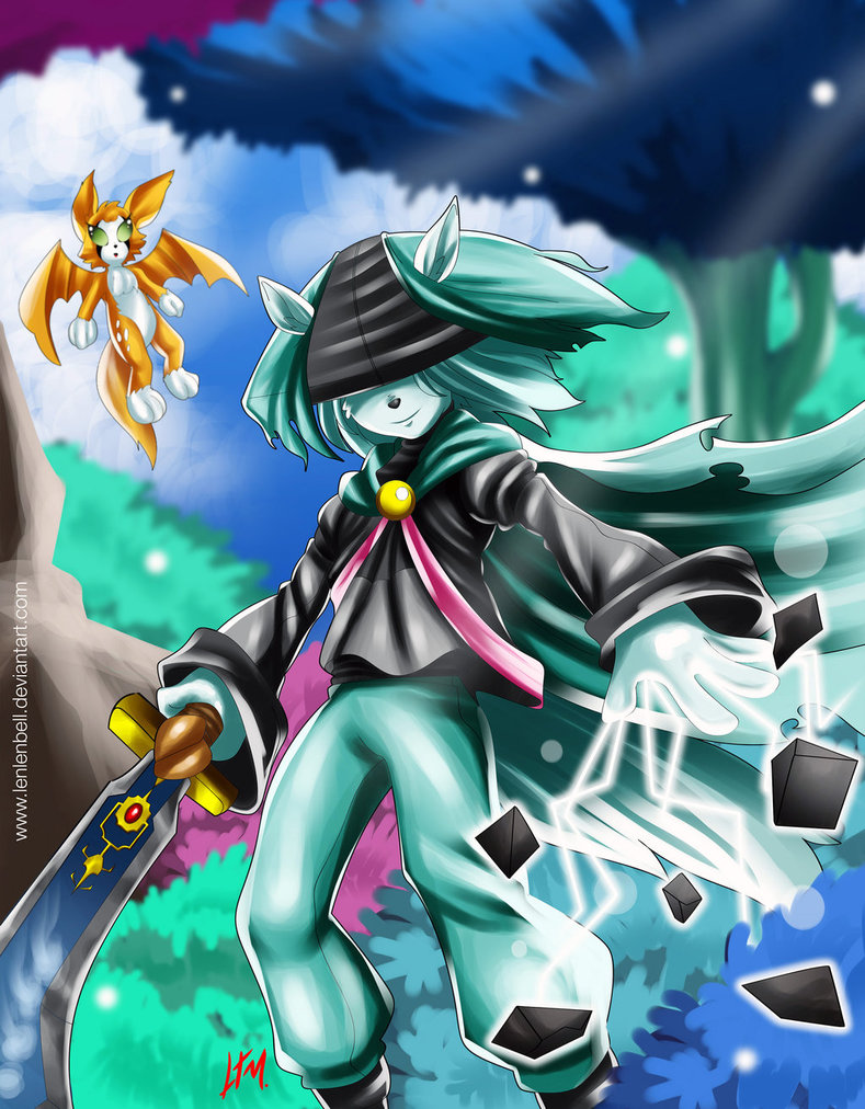 Free Download Dust And Fidget Fanart From Dust An Elysian Tail By