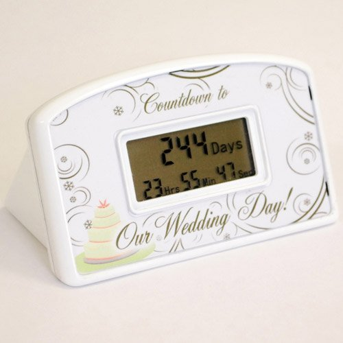 affordable Wedding Countdown Clock   Wedding Countdown Timer Prices 500x500