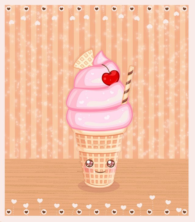 Download Melting Ice Cream Wallpaper Gallery: Cute Ice Cream Wallpaper
