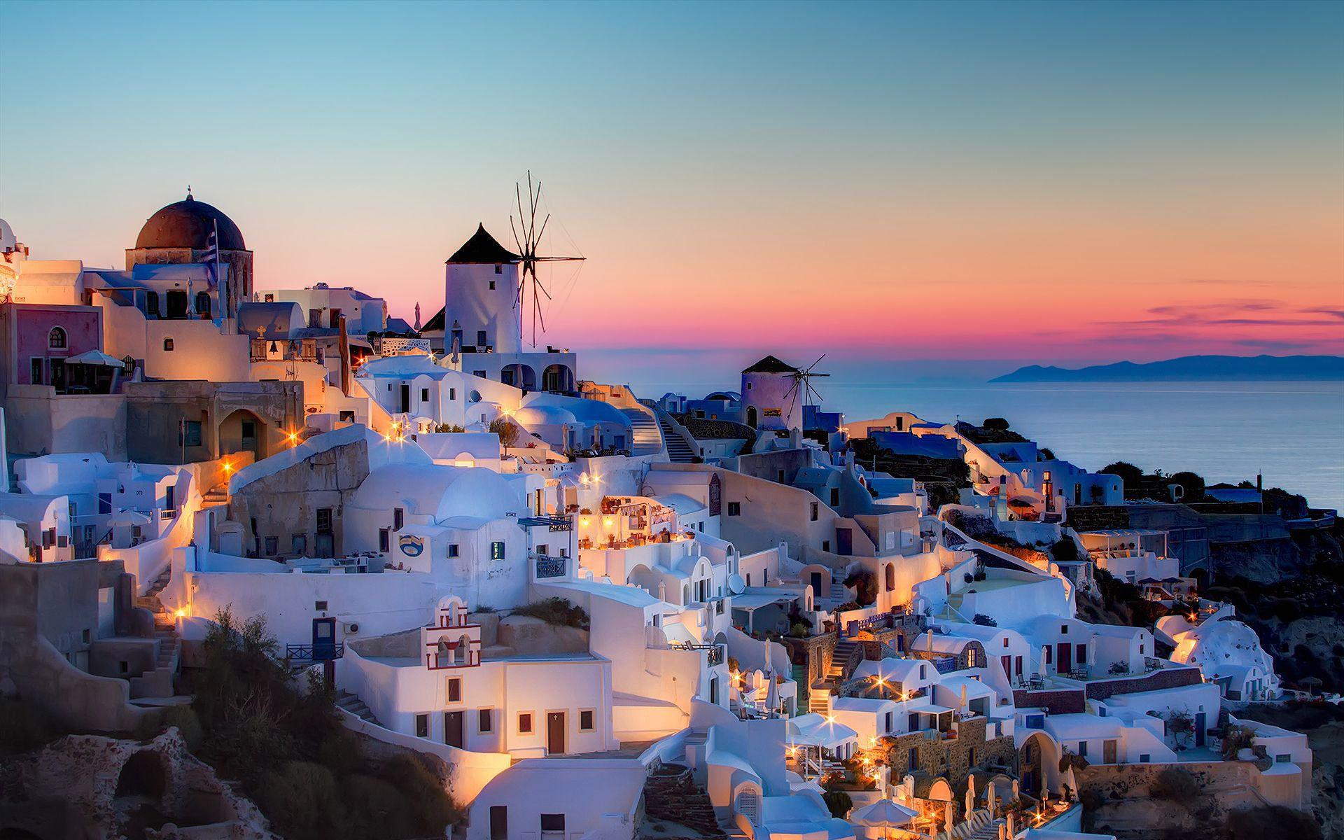 The Katikies Places to Visit in 2019 Santorini greece Oia 1920x1200