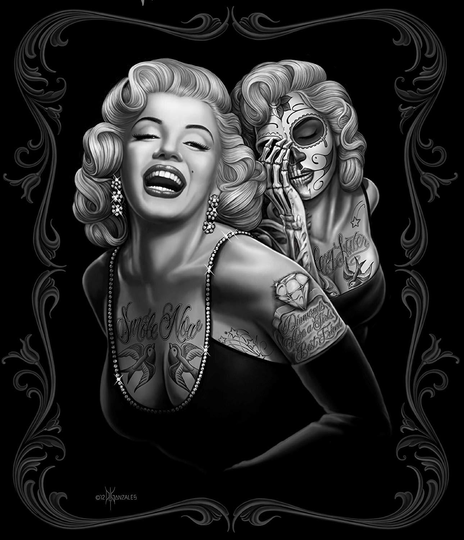 Amazoncom JPI Marilyn Monroe Smile Now Queen Blanket wBeach 1290x1500