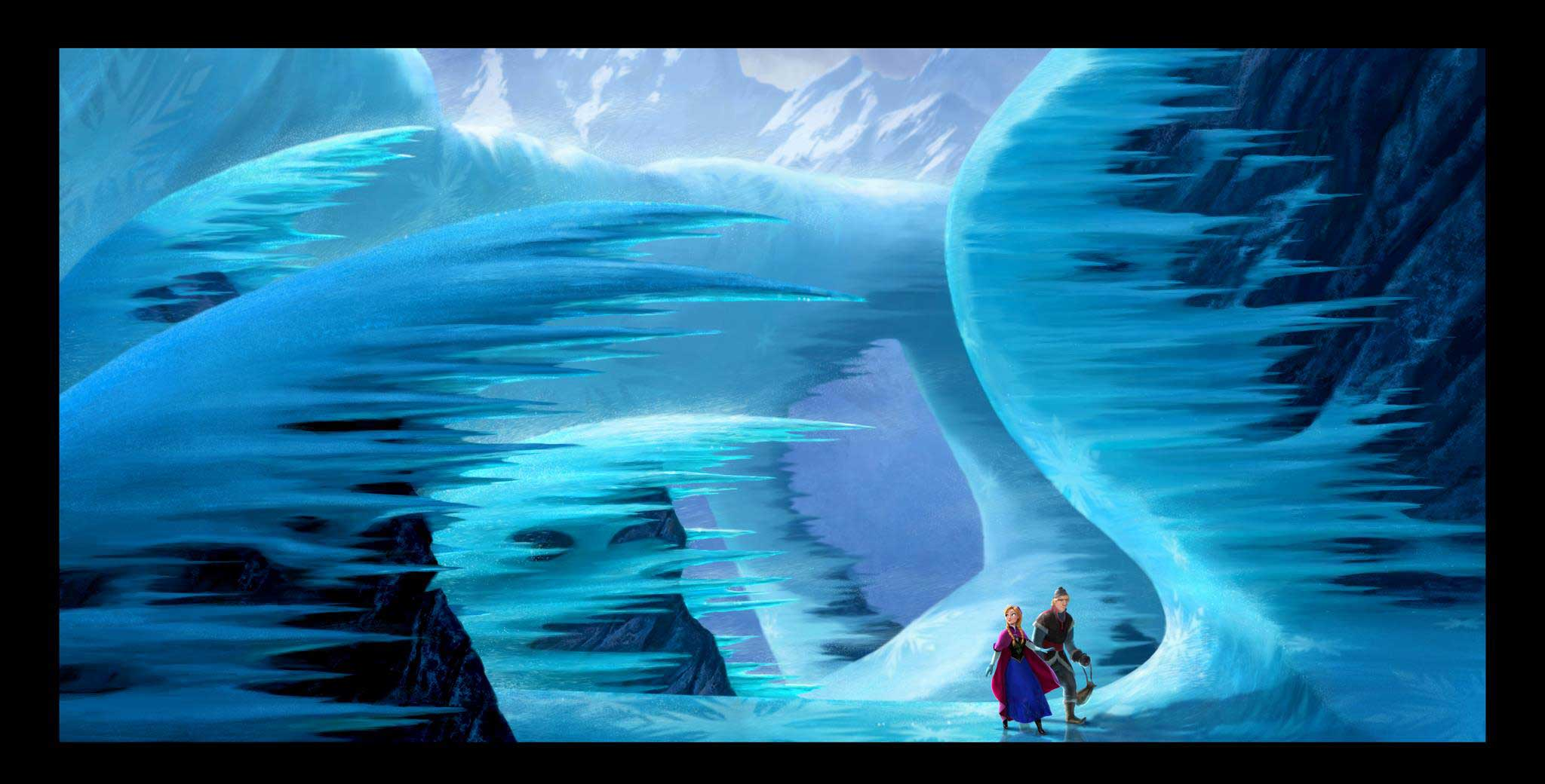 Wallpapers Desktop Backgrounds HD Frozen Movie Wallpapers 2048x1040
