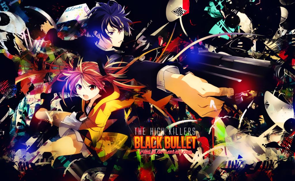 Download Black Bullet HD Widescreen Creative Graphics Wallpaper 1024x629