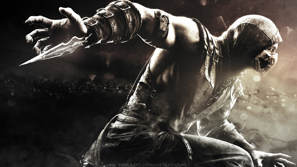 Mortal Kombat X Scorpion Wallpaper HD by MrKado 1024x576