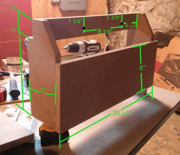 Feed Them Through The Mdf Using A Flat Bar To Hold Pressure Or Pry The 600x517