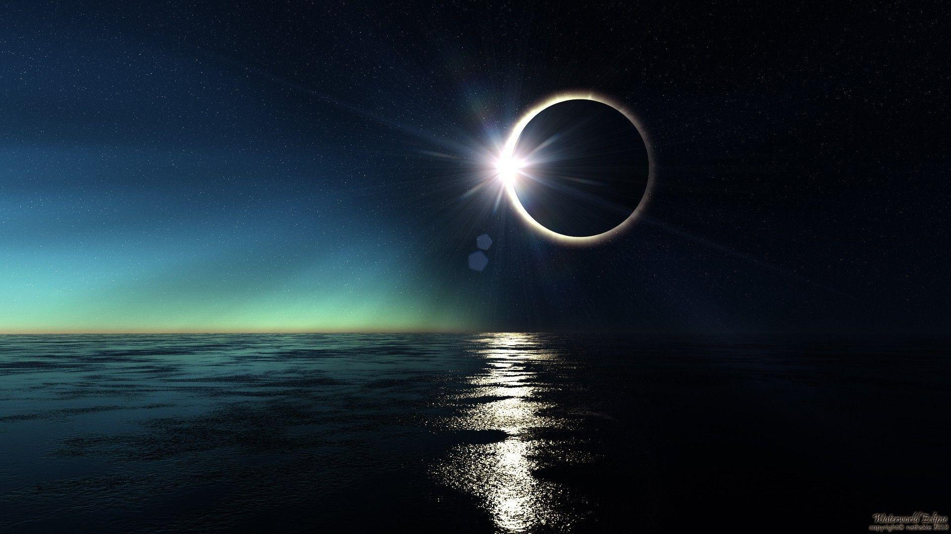 Solar Eclipse Wallpapers - Wallpaper Cave
