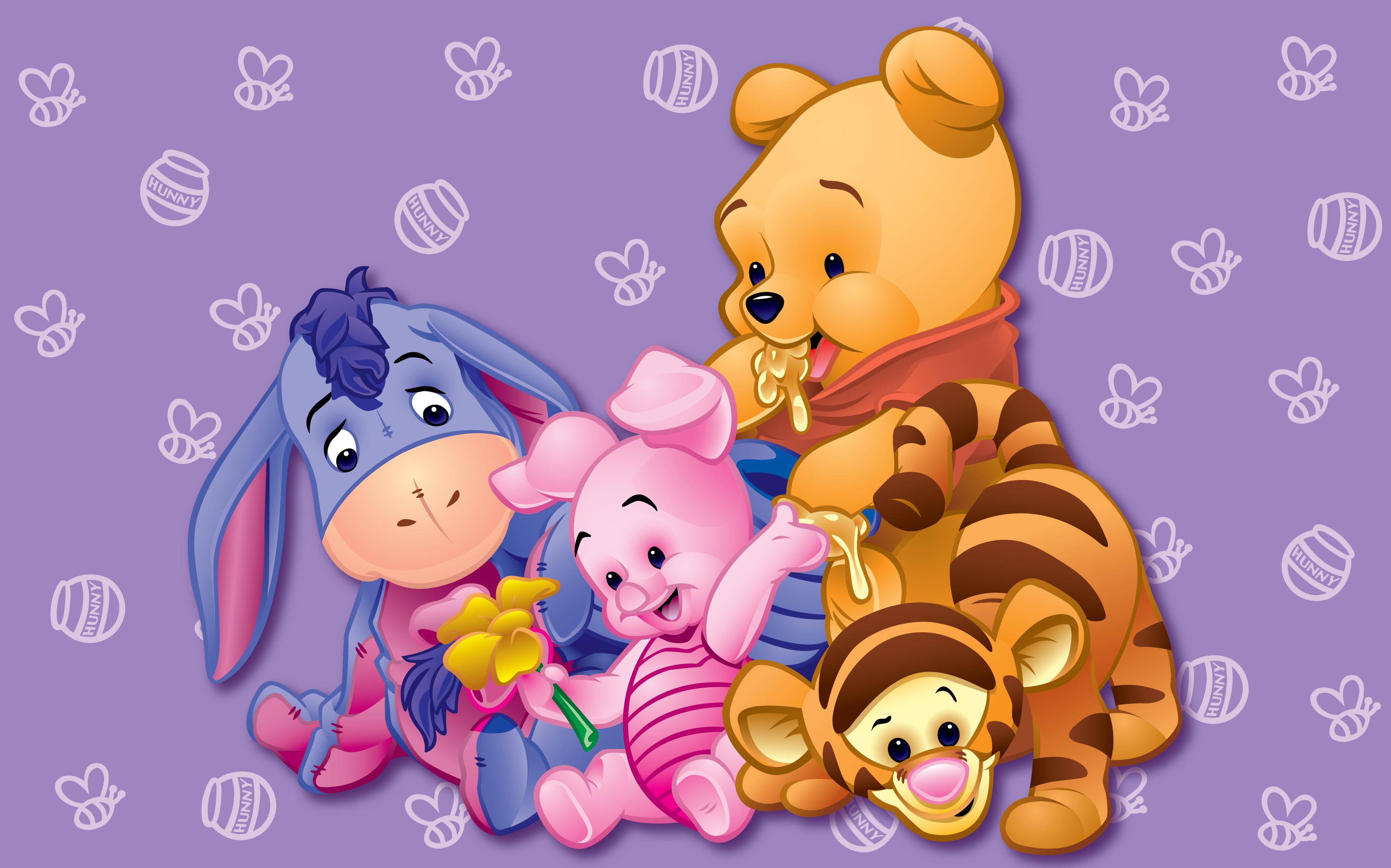 Baby Disney Characters Wallpaper 3500x2184