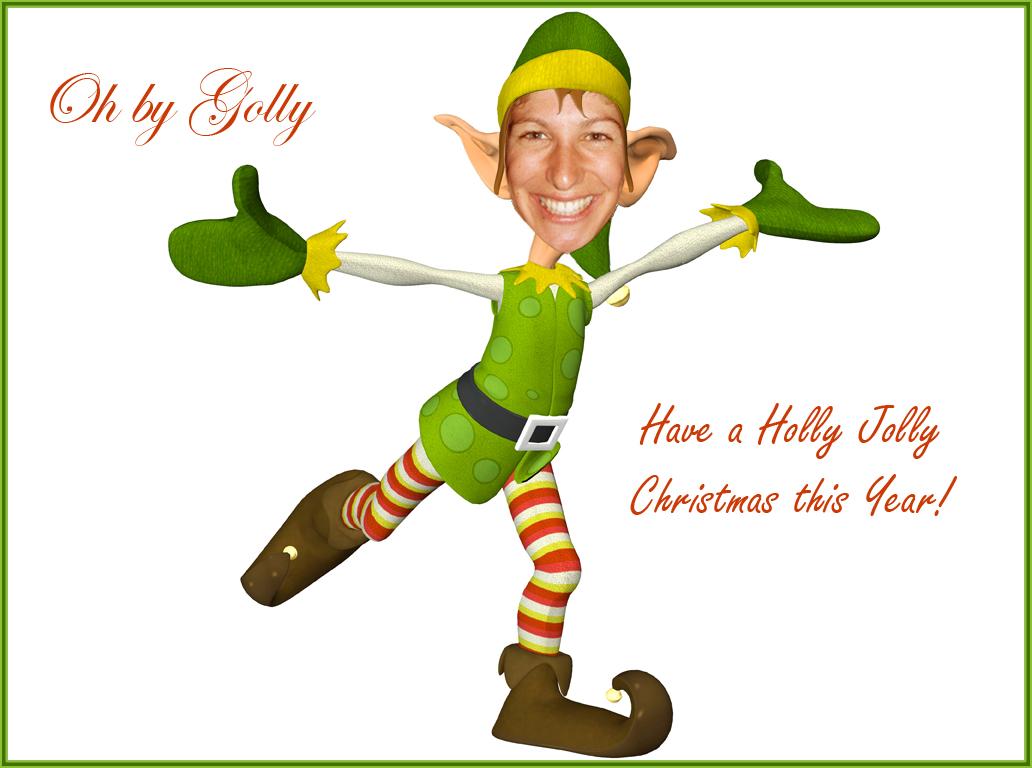Christmas Elf 5 Desktop Background Wallpaper 1032x768