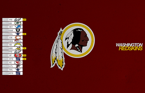 Washington Redskins 2013 Schedule Desktop Wallpaper Flickr   Photo 500x321