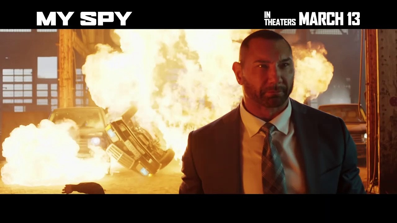 My Spy movie 2020   Dave Bautista Chloe Coleman   video dailymotion 1280x720