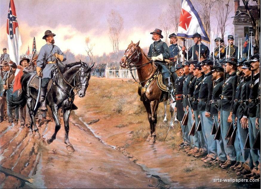 american civil war paintings art prints gallery pictures artworks 875x635