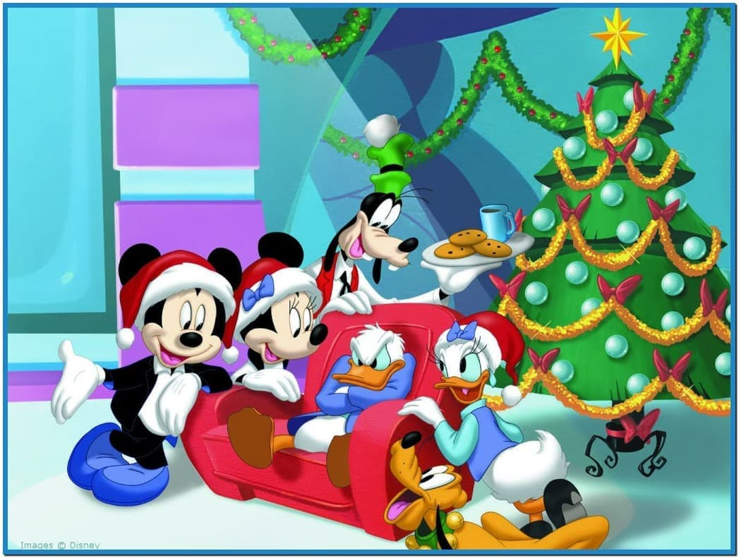 Disney christmas wallpaper and screensavers - Download free