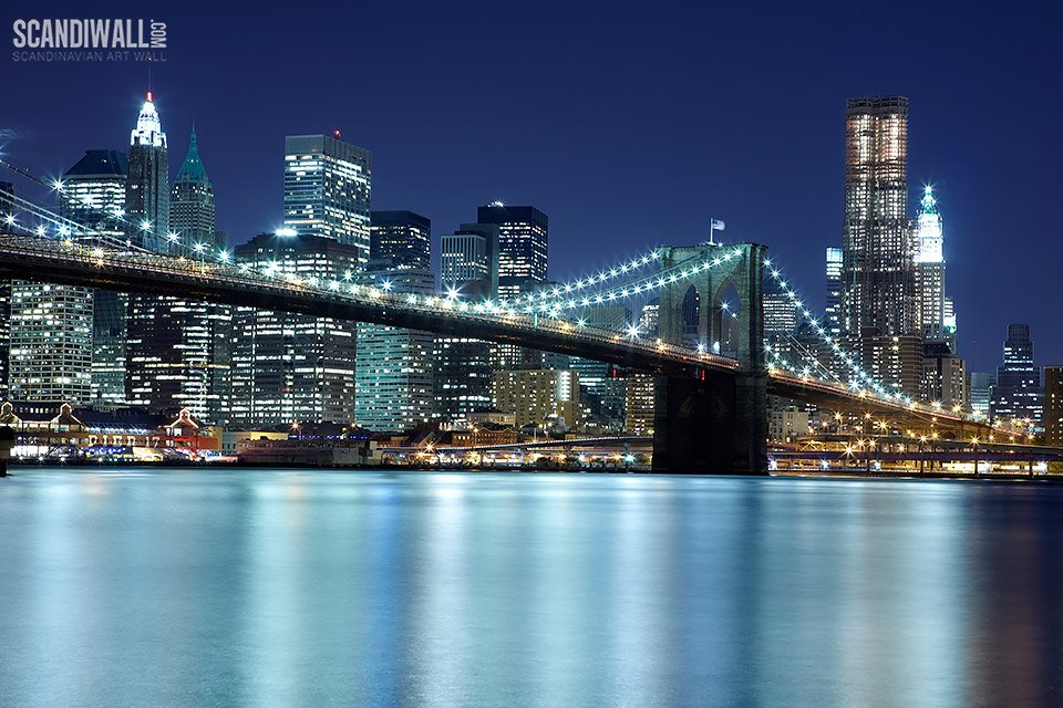 Free Download Photo Wallpaper Brooklyn Bridge New York Photo