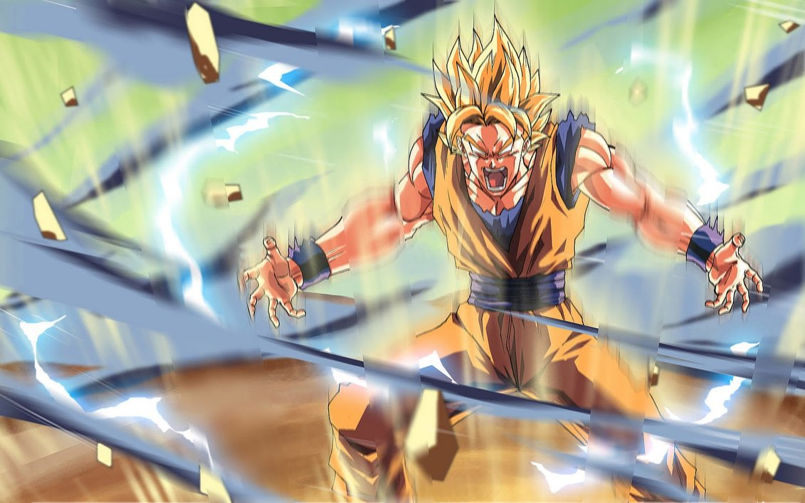 Dragon Ball Z Wallpapers Goku Super Saiyan 5 8 1131x707