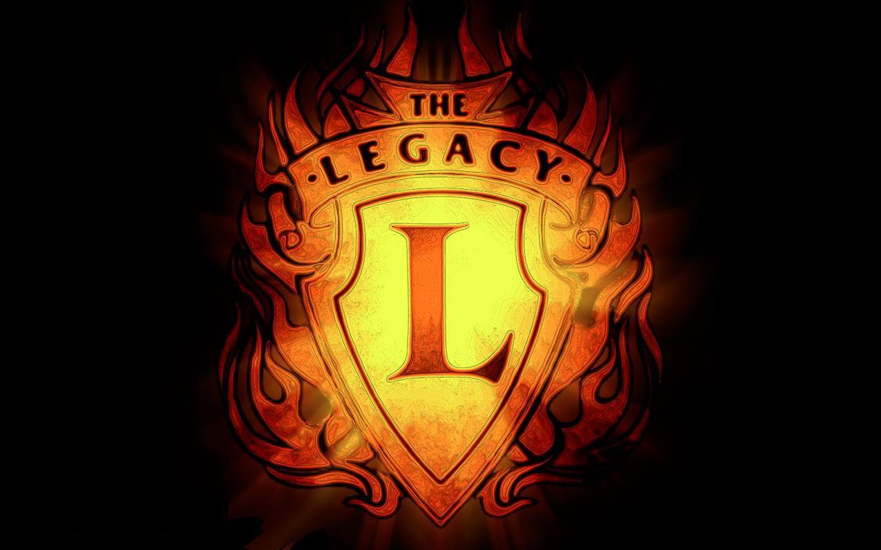 WWE The Legacy Logo Wallpaper 1280x800