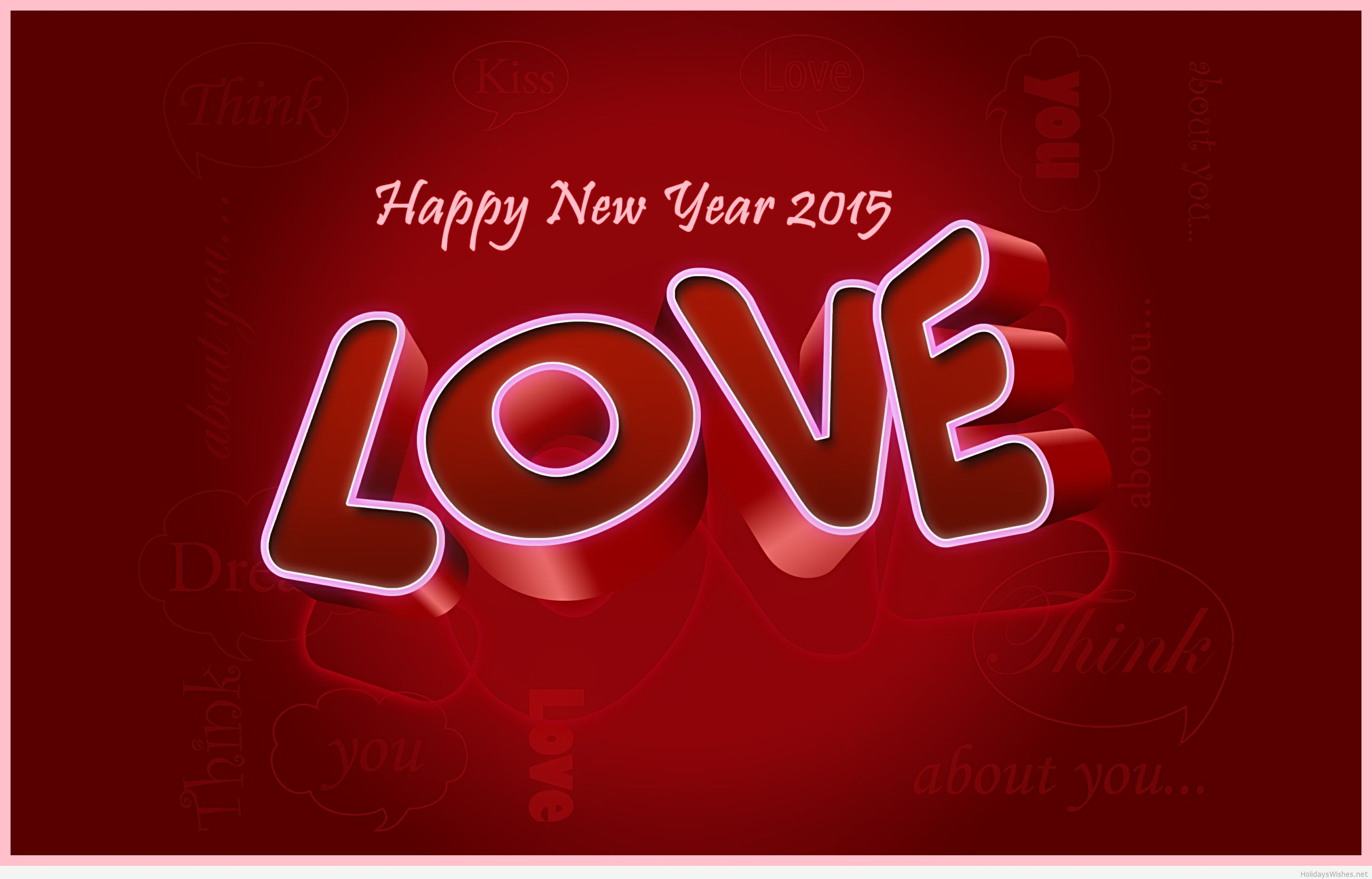 Lovely New Year 2015 Images wallpaper Gallery 2600x1665