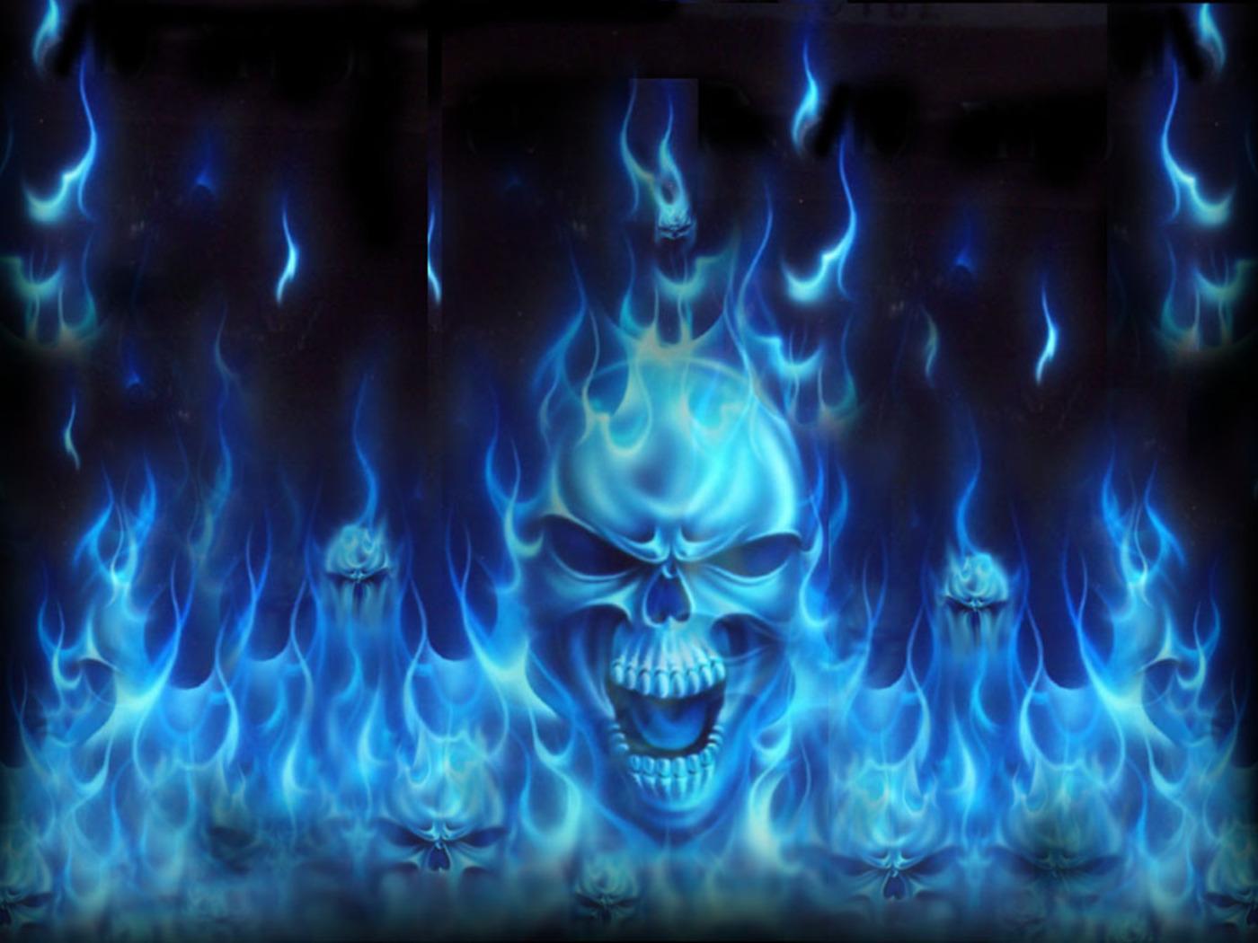 AWESOME SKULLS N STUFF images skull wallpaper cool HD 1400x1050