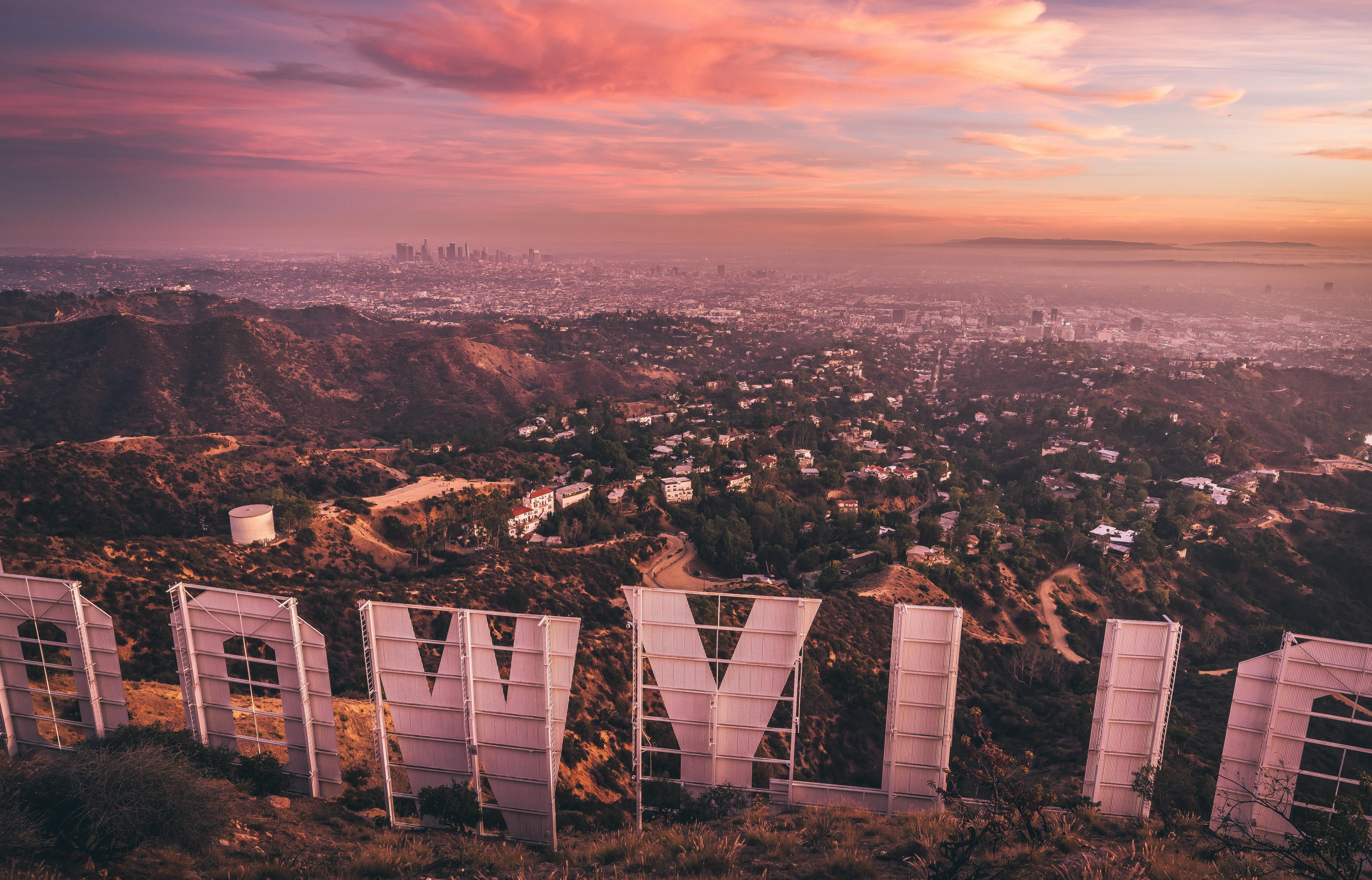 ITAP of the Hollywood Sign Hollywood sign Photo background 7805x5007