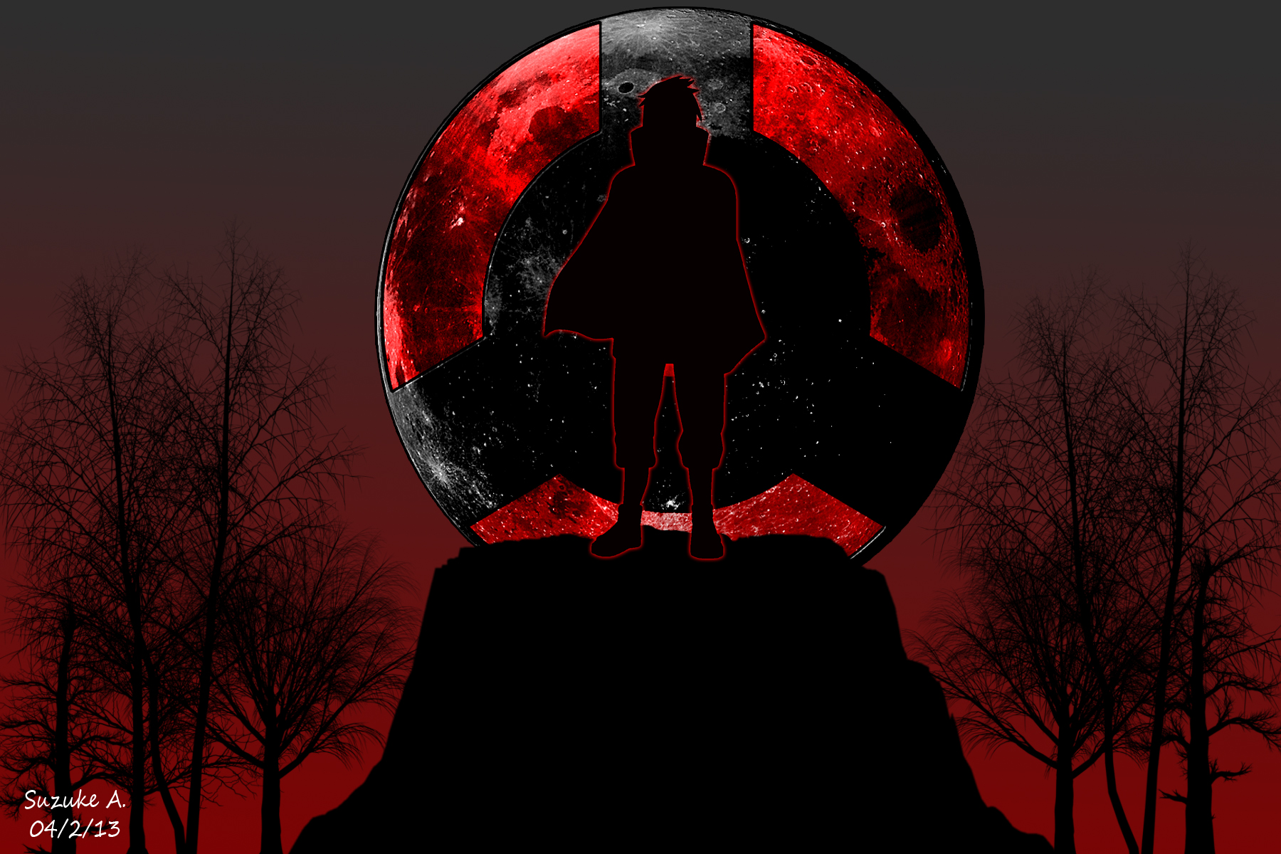 Itachi Uchiha Wallpaper Sharingan - WallpaperSafari