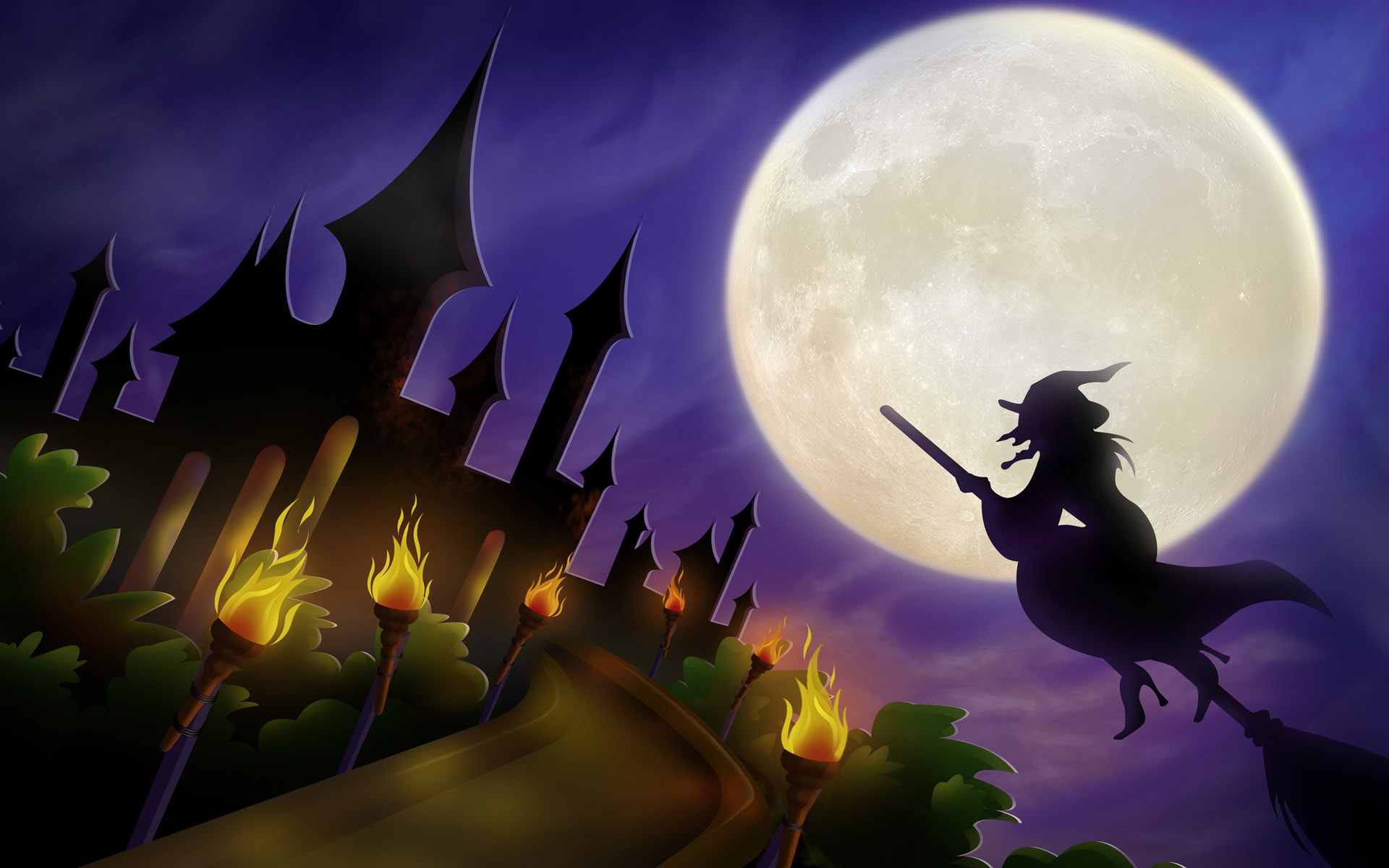 file name cute girl witch halloween wallpaper404 1920x1440 jpg 1920x1200