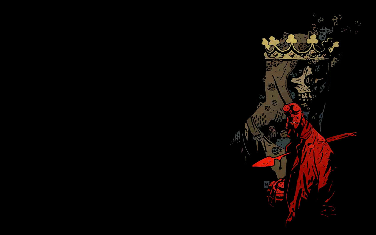 Wallpaper Abyss Explore the Collection Hellboy Comics Hellboy 179599 1280x800