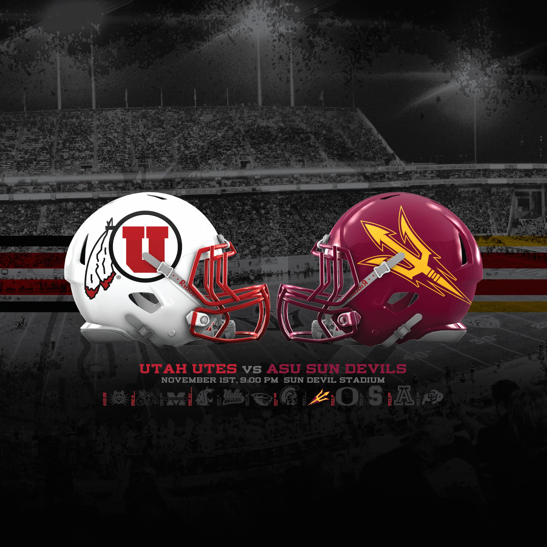 Utah Utes vs ASU Sun Devils Wallpapers Dahlelama 2448x2448
