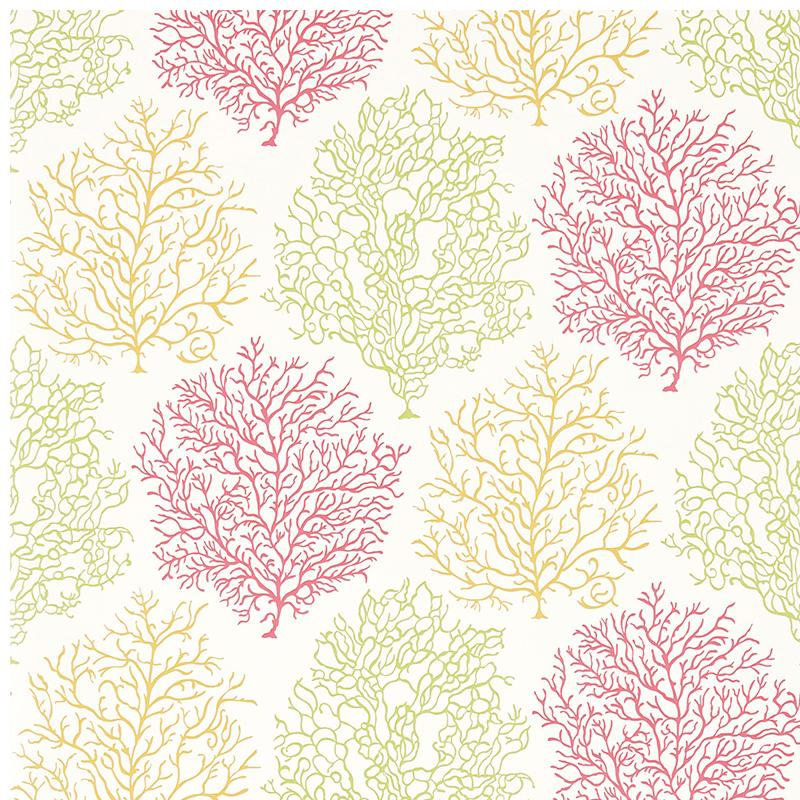 Sanderson Coral Reef DVOY213391 TropicalBrights wallpaper from the 800x800