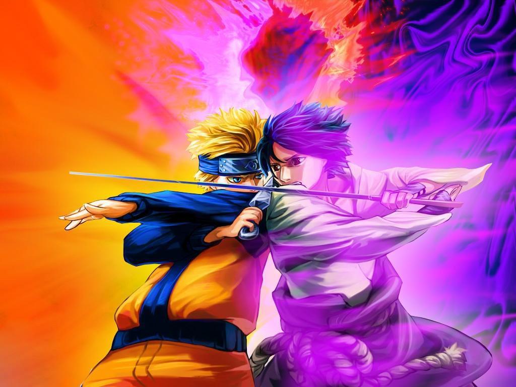 Naruto vs Sasuke Uchiha Fotos e Imgenes en FOTOBLOG X 1024x768