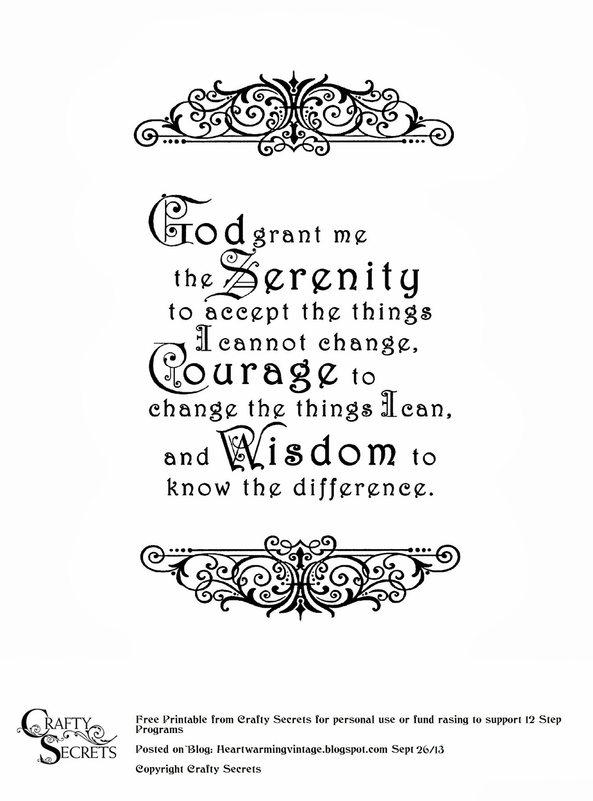 47 Free Serenity Prayer Wallpaper On Wallpapersafari