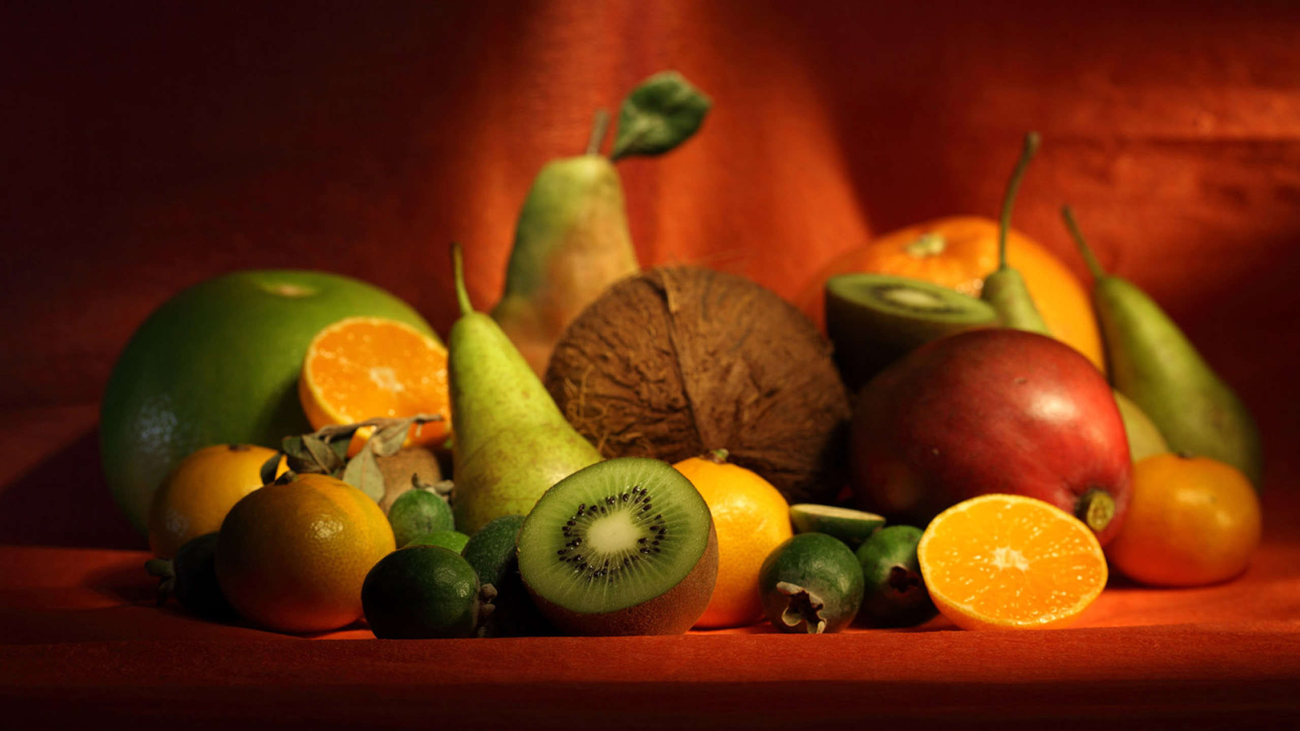 Rich in fruits and vegetables Wallpaper 2560x1440 Download 2560x1440
