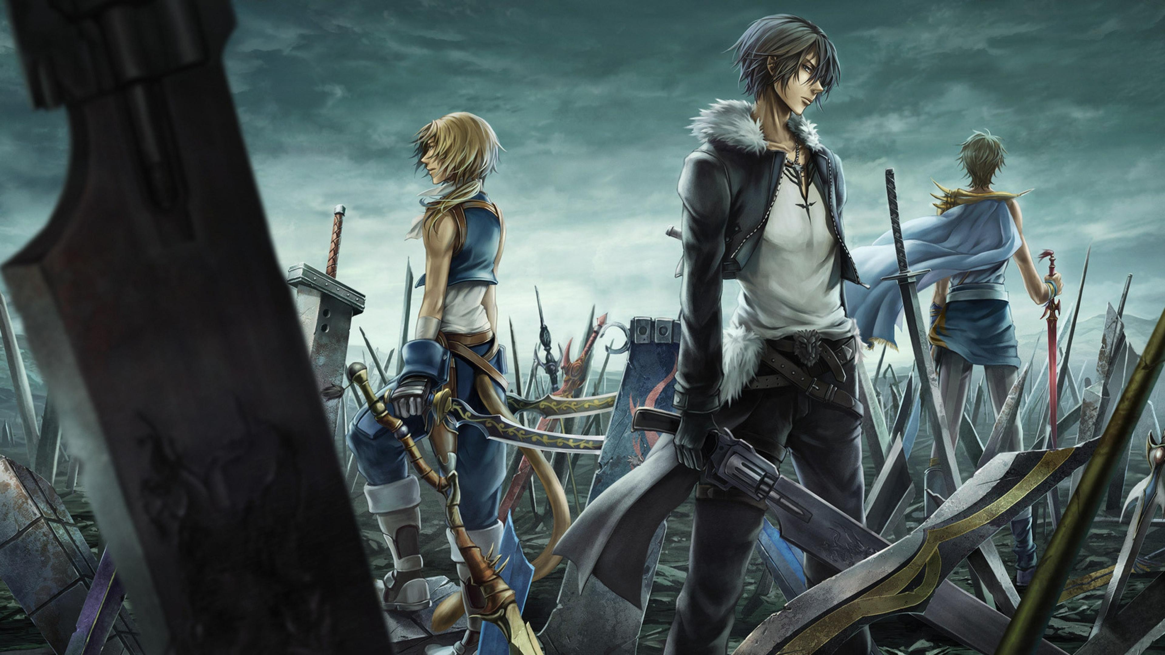 Final Fantasy HD Wallpapers 3840x2160