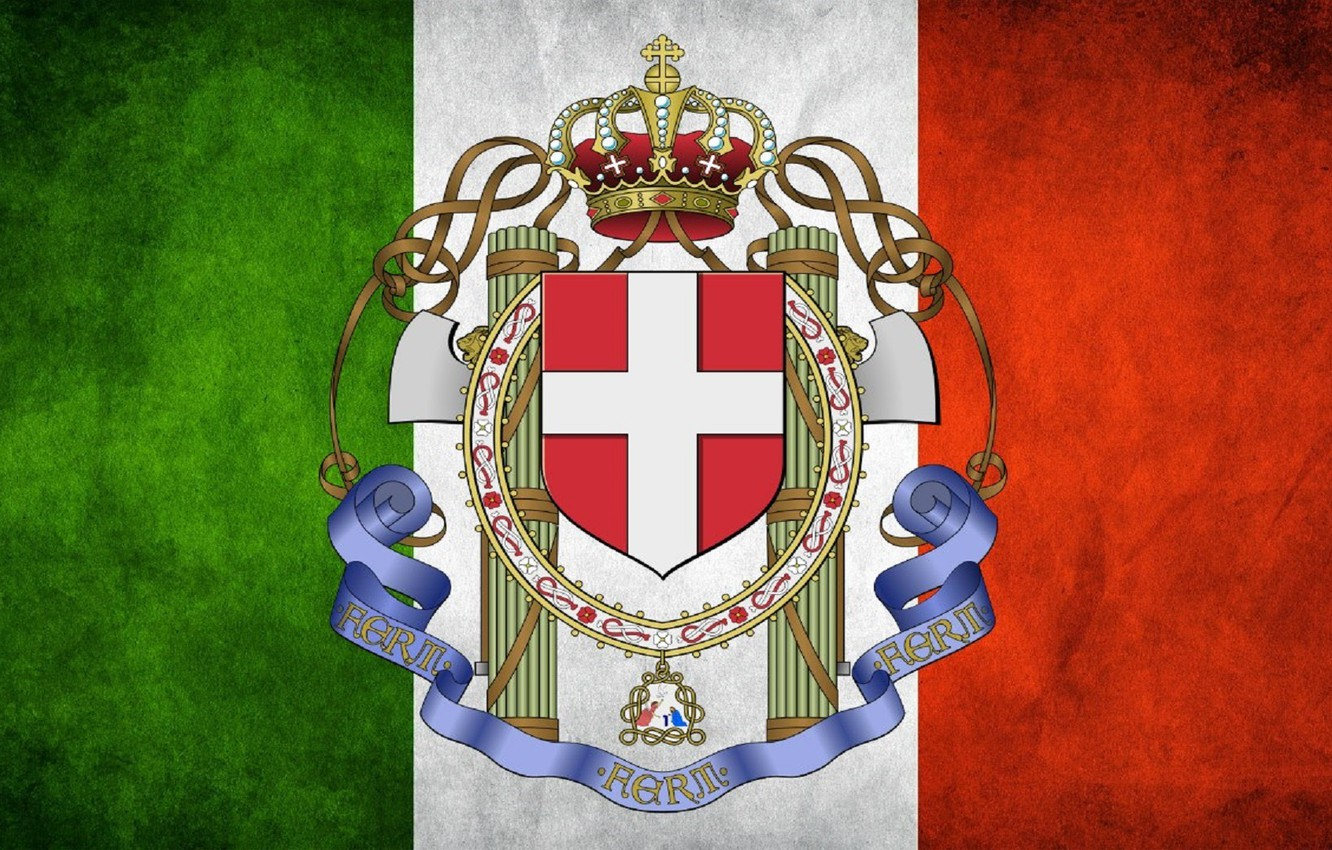 Wallpaper Flag Italy coat of arms Fascism fascia images for 1332x850
