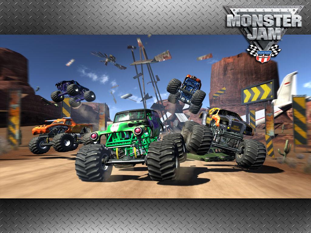 Monster Jam Video Game 1024x768