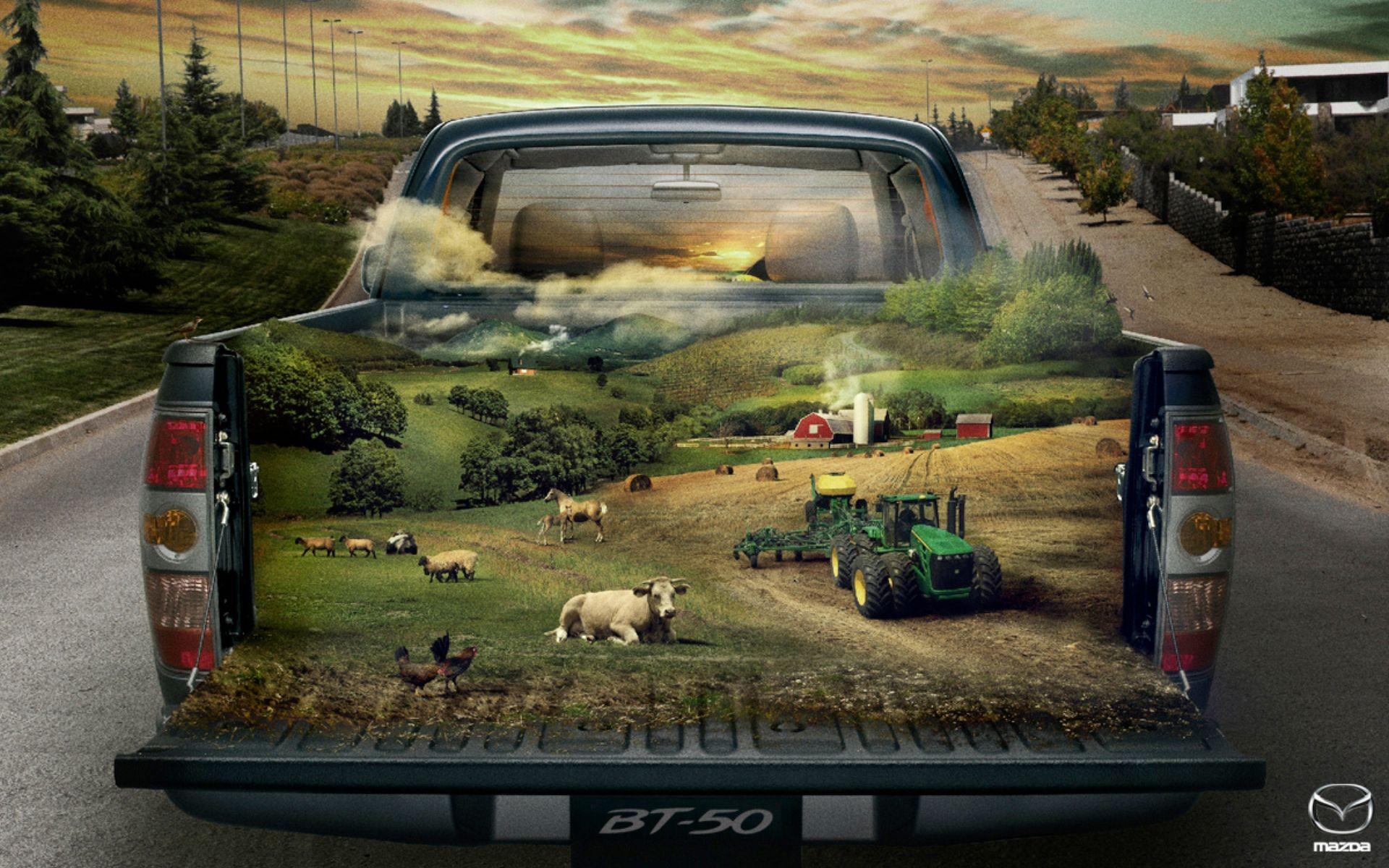 Farming Mazda BT 50 Wallpapers Farming Mazda BT 50 HD 1920x1200
