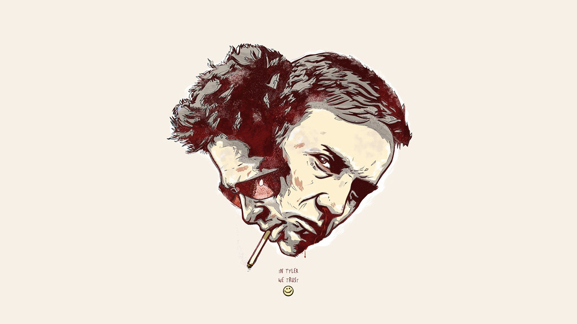 Fight Club iPhone Wall...